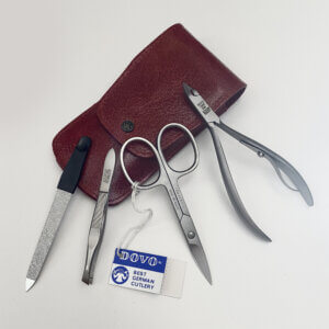 dovo Nail Nipper, cuticle scissors, tweezers