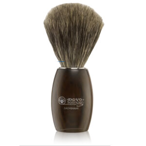 Dovo Shaving Brush, Pure Badger Black