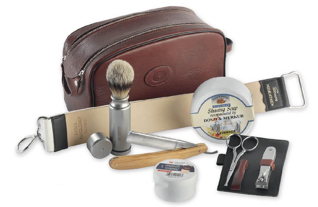 DOVO Straight Razors Travel Shave Set 556 056